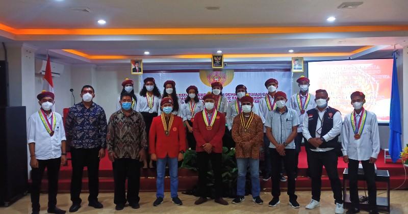 Ketua Presidium PP PMKRI Resmi Melantik DPC PMKRI Cabang Ambon