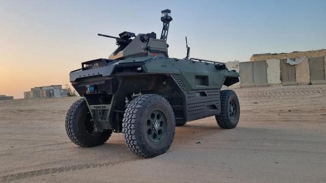 robot mặt đất có vũ trang tại DSEI