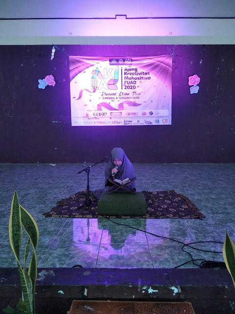 Depi Nursolihah dan Ardiansyah Wakili IQTAF pada Lomba Akad Cabang MTQ