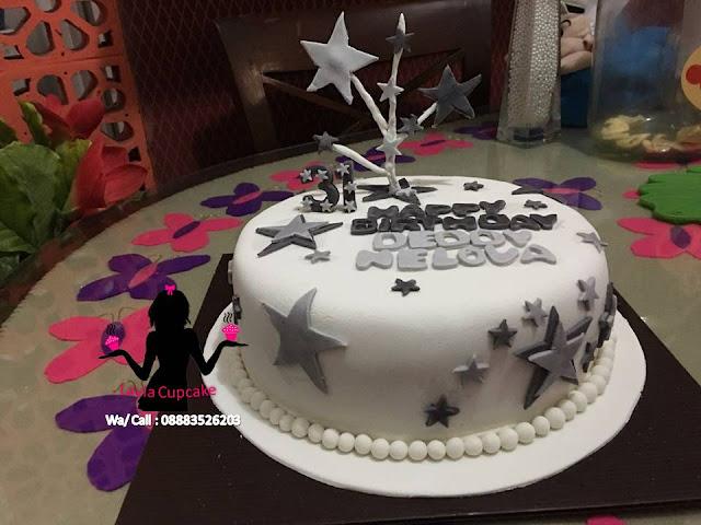Kue Tart Ulang tahun Lapis Fondant