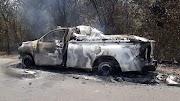 URGENTE Ambulância do município de São bernardo pega fogo próximo ao povoado Grossos-Araioses