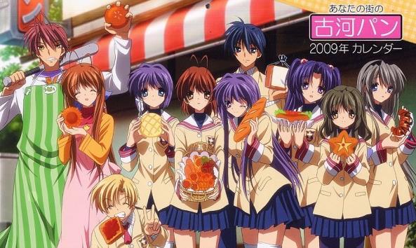 Clannad - Daftar Anime Romance School Terbaik Sepanjang Masa