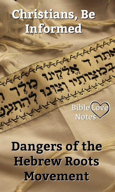 The Hebrew Roots Movement is gaining popularity and deceiving genuine believers. We need to be aware of the way this movement misuses Scripture. #HebrewRootsMovement #OldTestamentLawKeeping #Bible