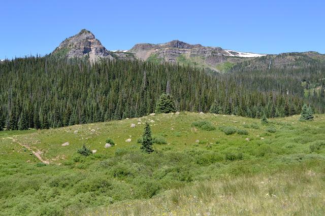 edges of Derby Peak