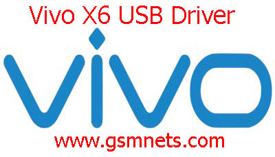 Vivo X6 USB Driver Download