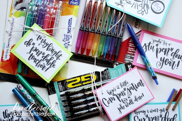 Pilot Pens Back-to-School Pen Pun Gifts!