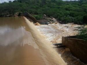 Na Paraíba: Açudes sangram após chuvas no mês de junho