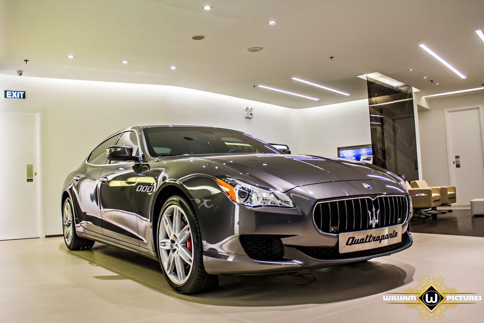 Maserati Quattroporte có một vẻ đẹp độc đáo và hoàn hảo, tinh tế đúng chất Ý