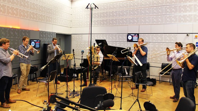 Septura performing on BBC Radio 3's In Tune - July 2016 (Photo Septura/BBC)