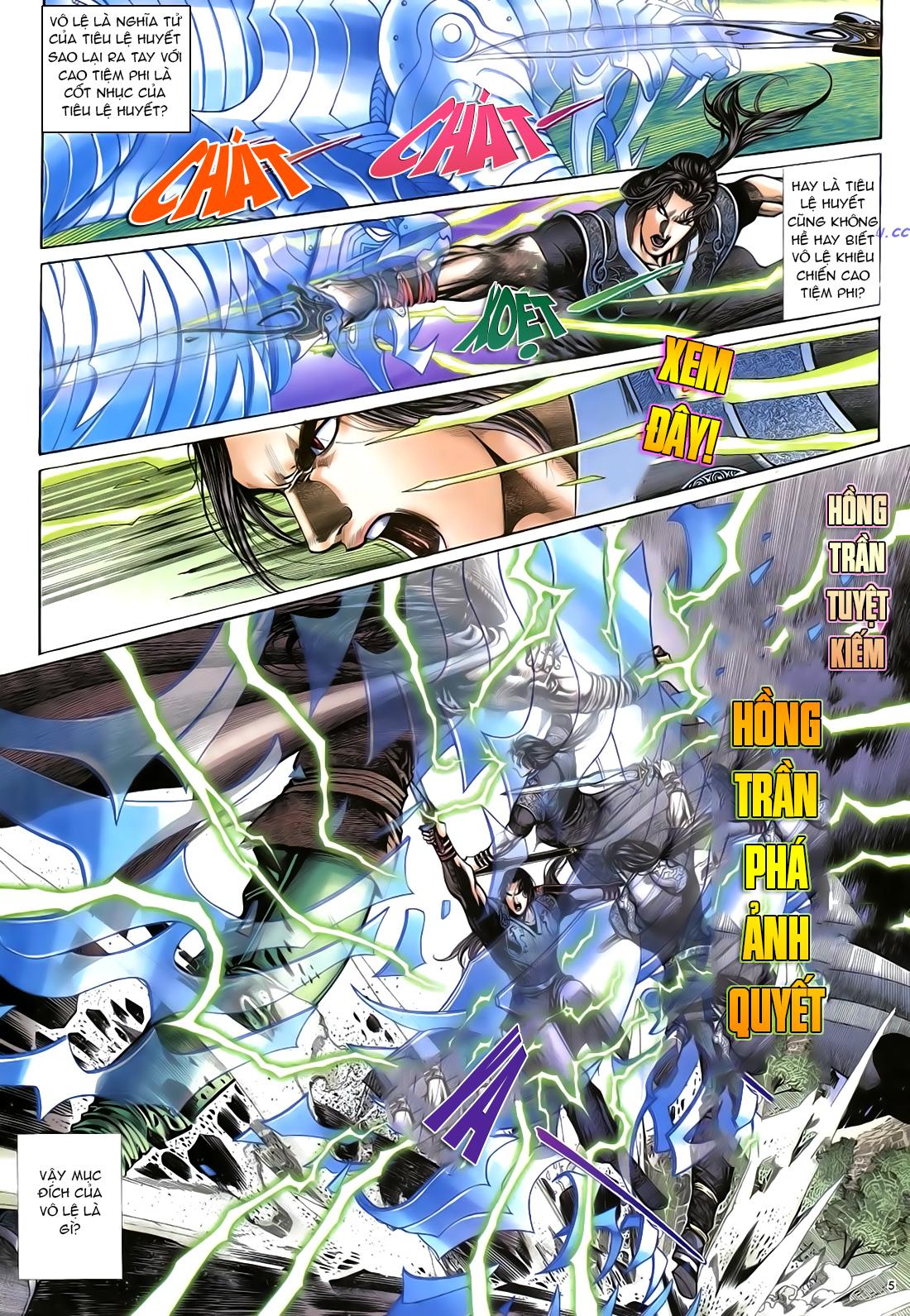 Anh hùng vô lệ Chap 21 trang 6