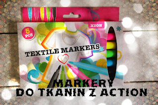 Markery do tkanin z Action