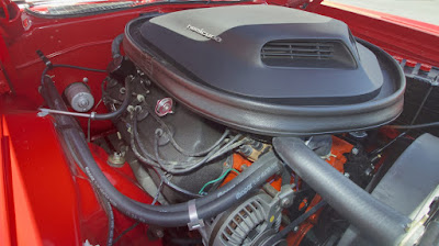 1971 Plymouth Barracuda Cuda Hemi Sports Coupe Engine 01