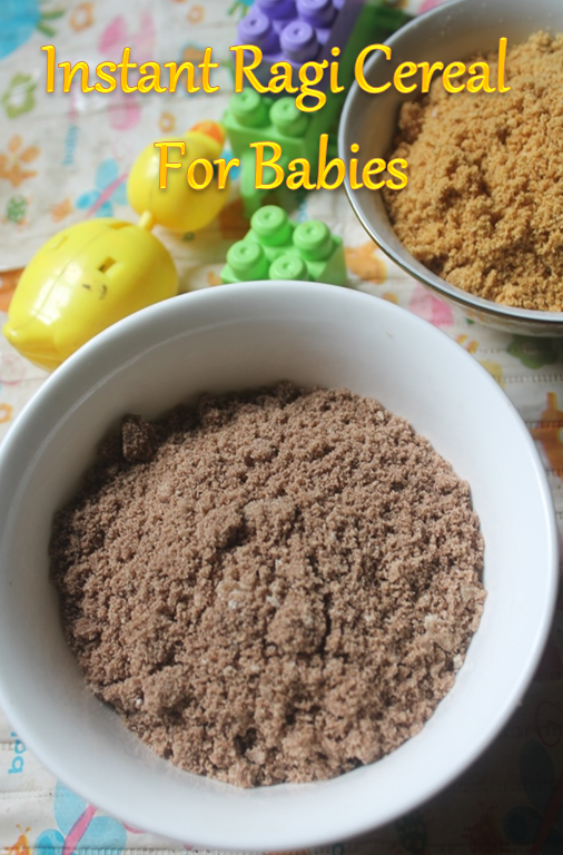 Instant Ragi Ceralac Recipe No Cook Finger Millet Cereal