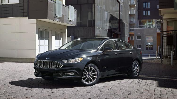 2017 Ford Fusion Hybrid 0 60
