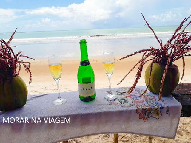 Comemorando Bodas de Papel na Ilha de Boipeba