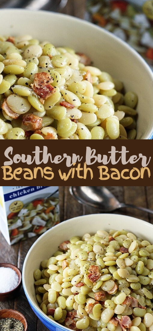 Southern Butter Beans with Bacon #healthyrecipe #dinnerhealthy #ketorecipe #diet #salad