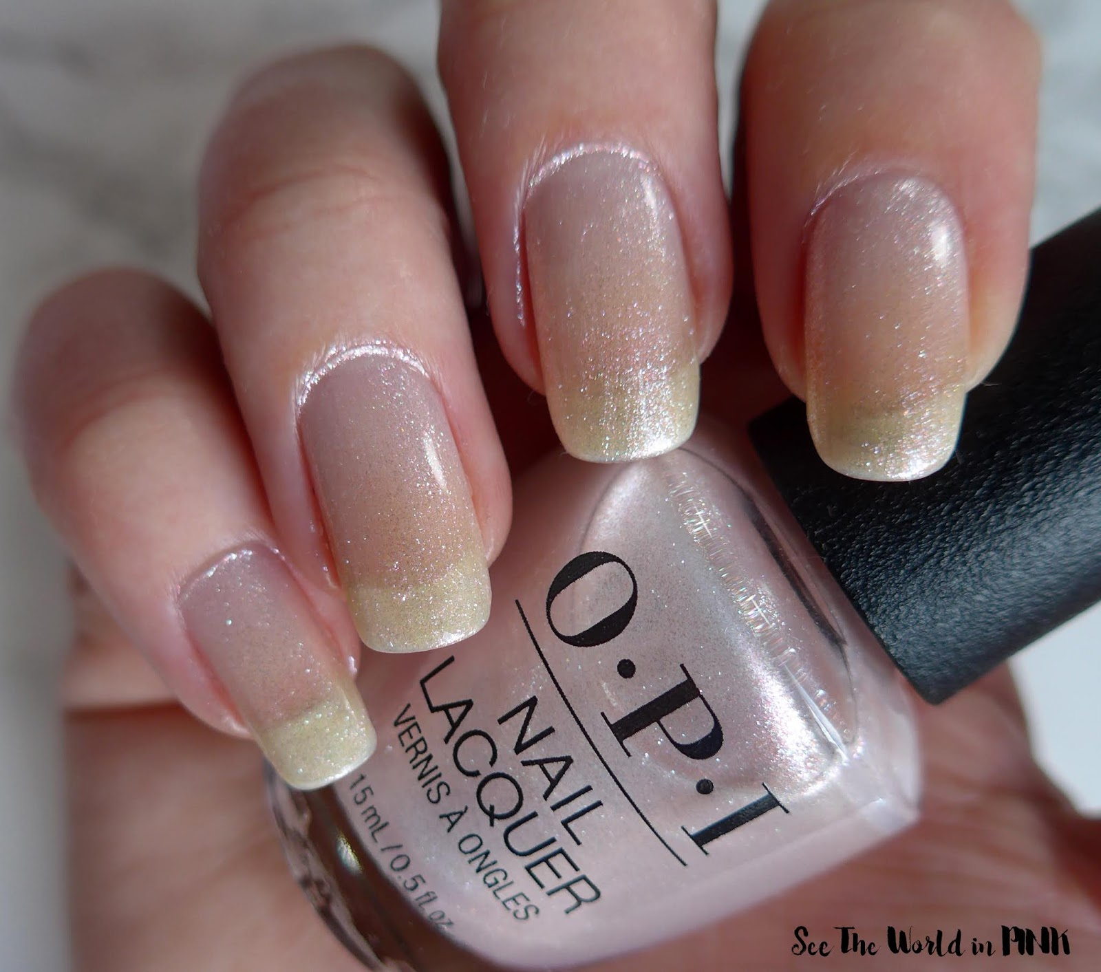 OPI Always Bare For You - Throw Me A Kiss