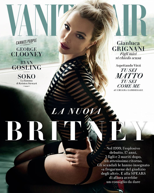 Actress, Singer, @ Britney Spears - Vanity Fair Italy, May 2016