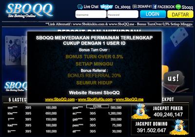 Sboqq.io Domino99, Agen Bandarq, Domino Qiu Qiu, Capsa Online