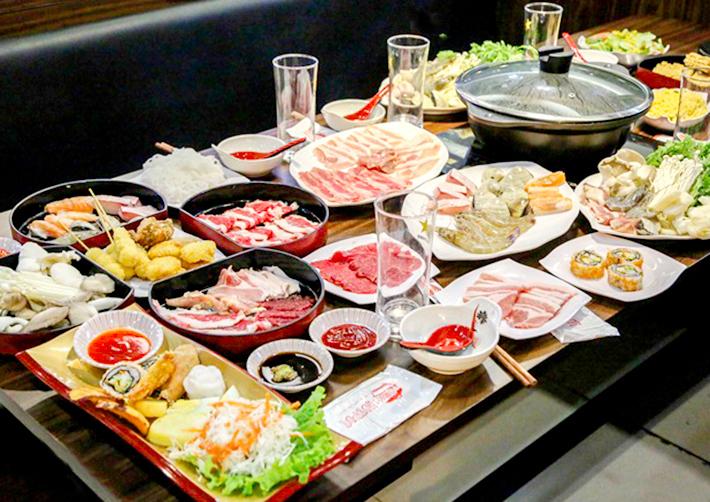 Buffet Trưa Lẩu Nhật Hải Sản, Bò Mỹ, Sushi, Bao Gồm Thức Uống - Choice Hotpot