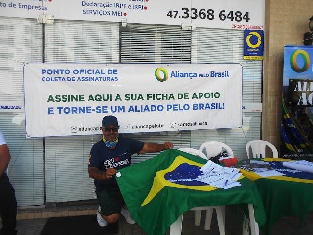 Aliança pelo Brasil em Itapema