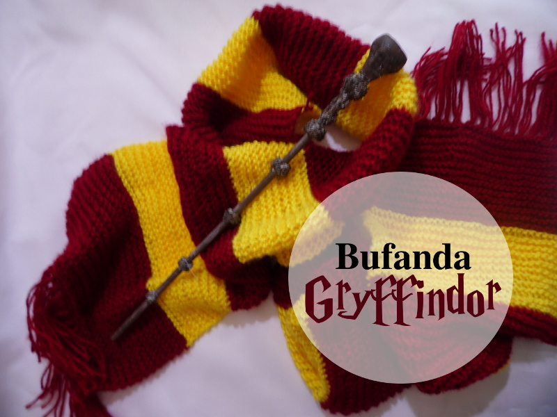 Bufanda tejida a dos agujas para principiantes