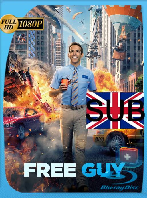 Free Guy: Tomando el Control (2021) BRRip 1080p Subtitulado [GoogleDrive]