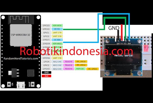 oled ssd1306 - esp32 -arduino