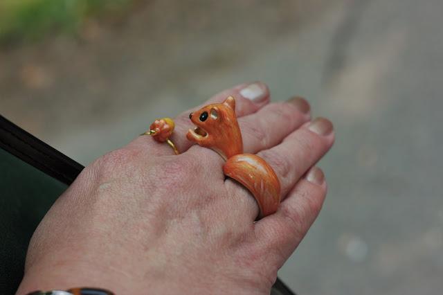Eichhörnchen Ring