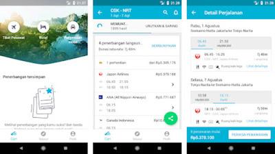 Aplikasi Booking Tiket Pesawat Terbaik dan Termurah di Indonesia Tahun  10 Aplikasi Booking Tiket Pesawat Terbaik dan Termurah di Indonesia Tahun 2019
