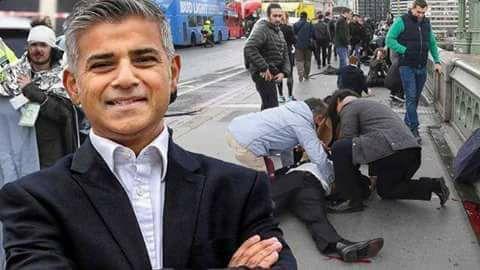 PREFEITO MUÇULMANO DE LONDRES AFIRMA: TERRORISMO FAZ PARTE DA ROTINA DE GRANDES CIDADES