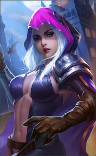 Natalia Glass Blade Heroes Assassin of Skins Old V3