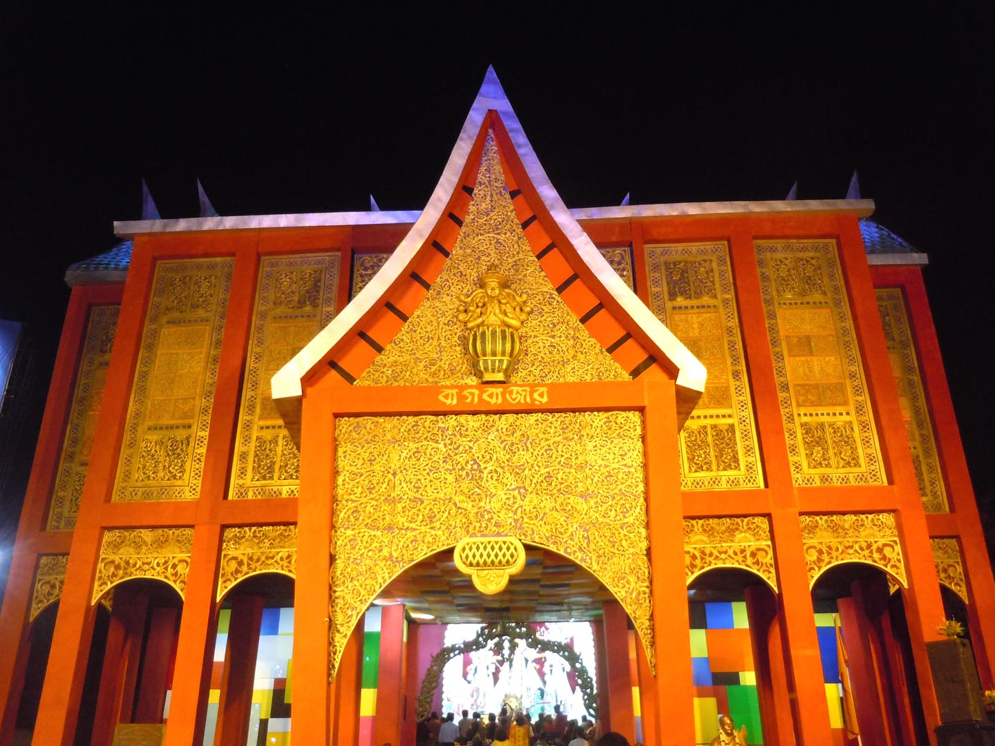 Just about everything 10012012 11012012 durga puja pandal baghbazar north kolkata altavistaventures Choice Image