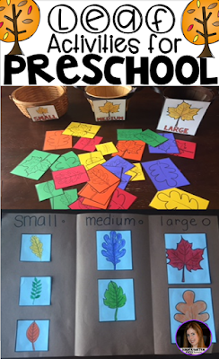 Leaf and Fall Activities for Preschool
