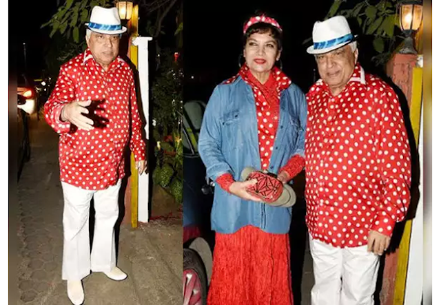 javed akhtar birthday party,Javed Akhtar birthday,farhan akhtar performance,Farhan Akhtar father,Farhan Akhtar,news from bollywood News