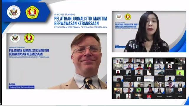 Rektor UPN Veteran Yogyakarta Buka Pelatihan Wartawan Maritim Zona-2