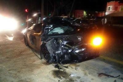 Pulido sufrió accidente automovilístico – San Cadilla