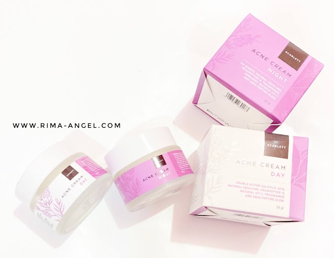 Pemakaian Scarlett Acne Day & Night Cream Selama 2 Minggu