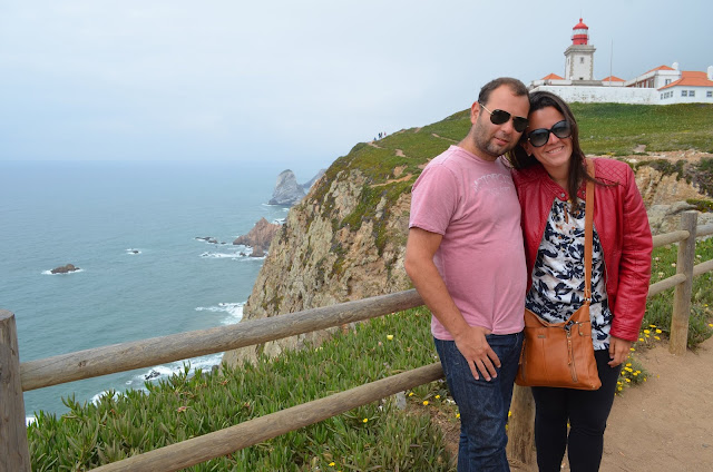Cabo da Roca, o ponto mais ocidental do Continente Europeu