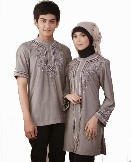 ッ43 Model Baju Muslim Couple Terbaru 2019 Model Baju Muslim