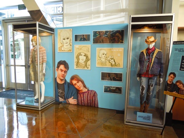 Skeleton Twins film costume display