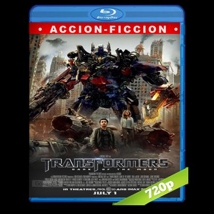 descargar Transformers 3 El Lado Oscuro De La Luna HD720p Lat-Cast-Ing 5.1 (2011) gratis