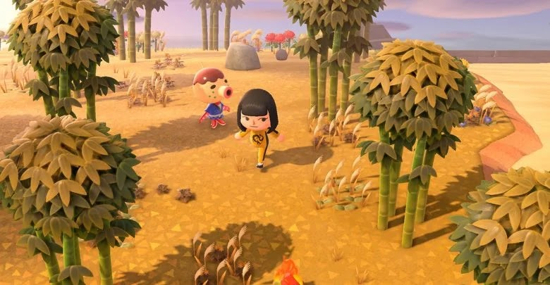 How to get bamboo and plant it on your island in Animal Crossing: New Horizons