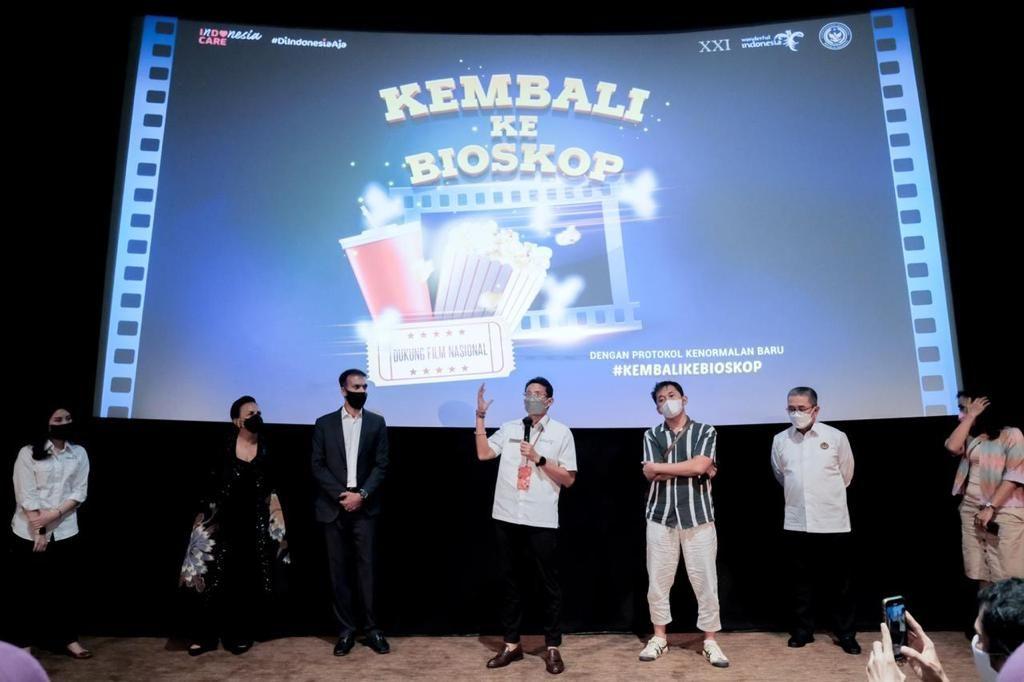 Ayo #KembaliKeBioskop Untuk Membangkitkan Industri Film Indonesia