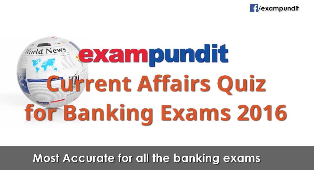 Financial Current Affairs Quiz for RBI Grade B amp amp BMSB PO August ...