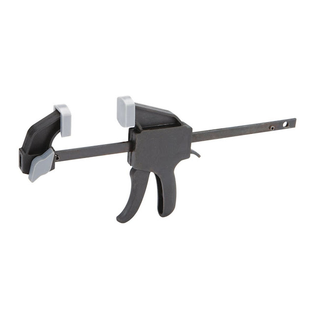 Harbor Freight - Pittsburge 4 inch Ratcheting Bar Clamp