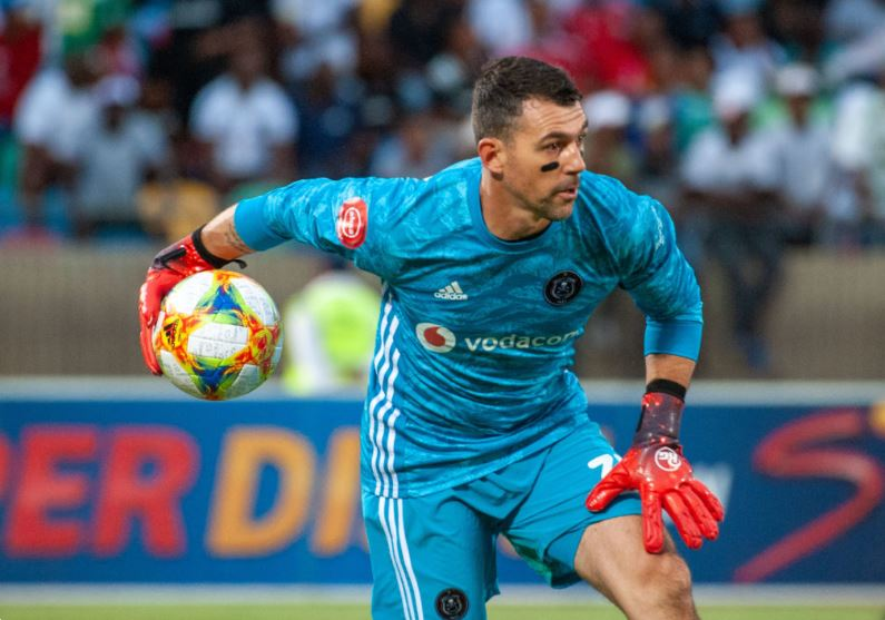 Orlando Pirates goalkeeper Wayne Sandilands