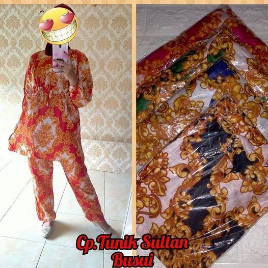 Setelan Tunik Serut Sultan BW0010