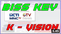 Analisa Frekuensi MNC Group di K Vision MNCTV RCTI GTV Apakah Biss Key