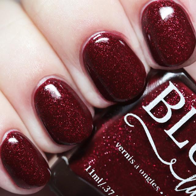 Blush Lacquers Tartan Rose